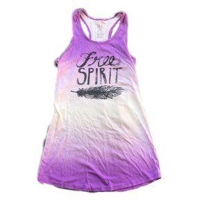 Tops - Yoga Tank Top Free Spirit Ombré